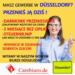 Gewerbe bez zameldowania Niemczech carebiuro.click